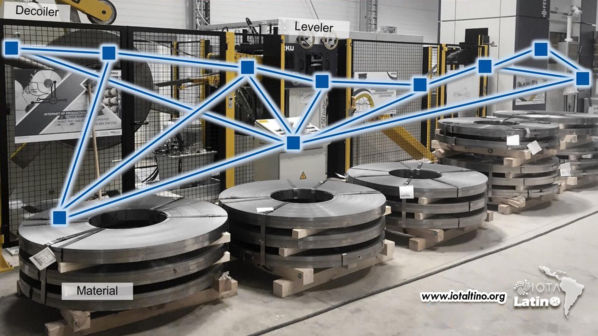laboratorio industrial de IOTA IILA - IOTA Latino