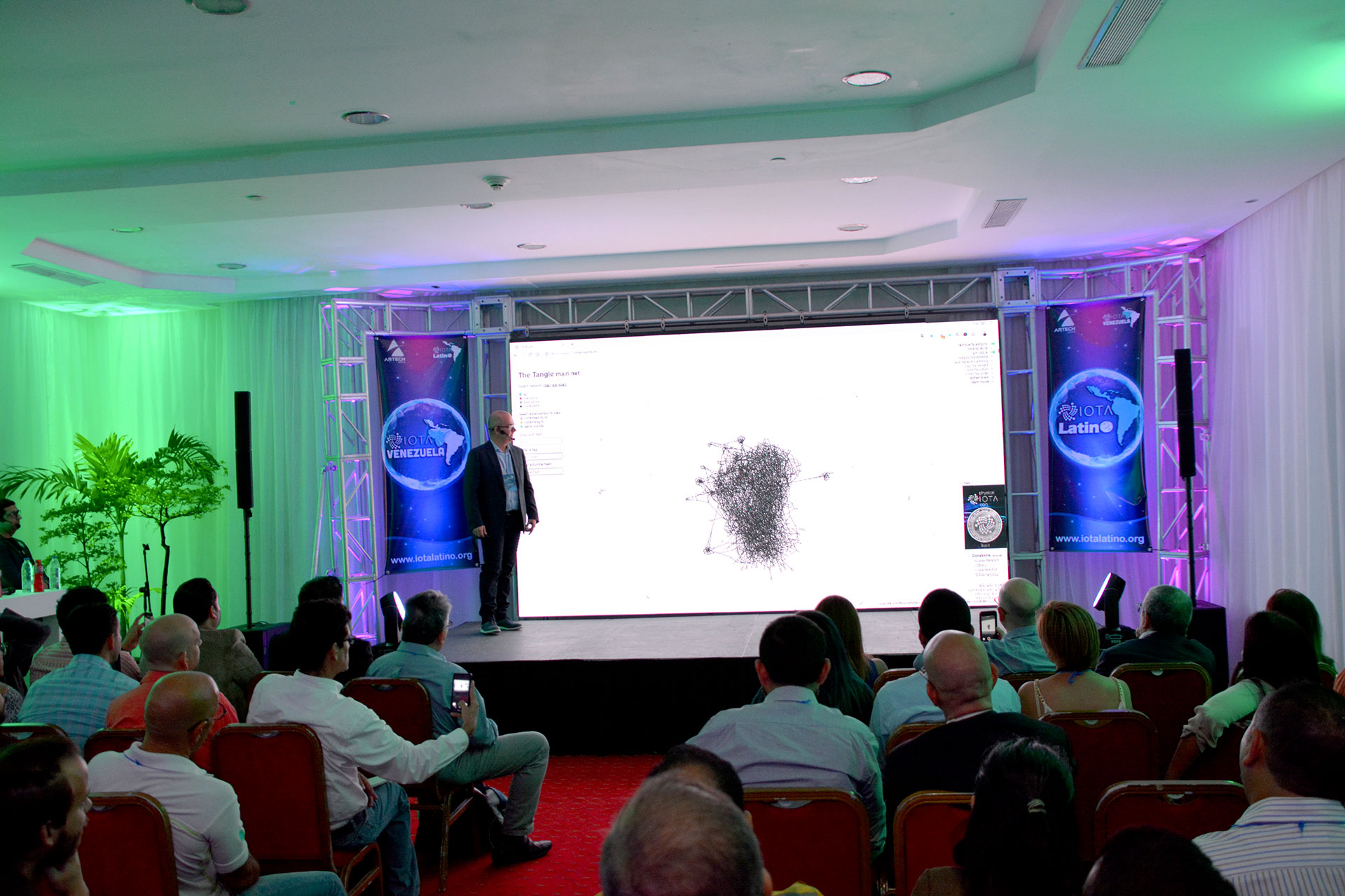 primer meetup de IOTA en Venezuela - Saul Ameliach - 2