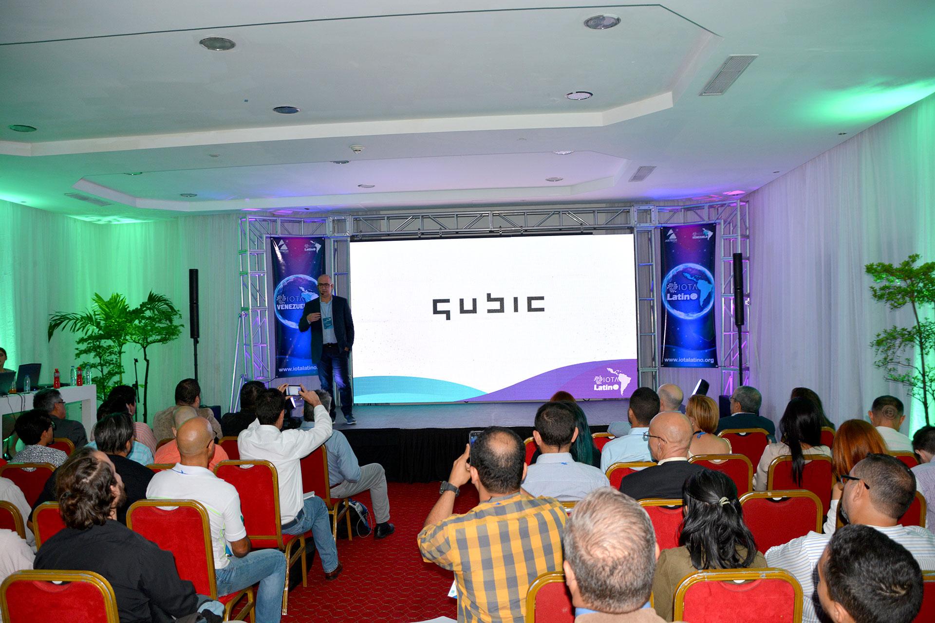 primer meetup de IOTA en Venezuela - Saul Ameliach - 4