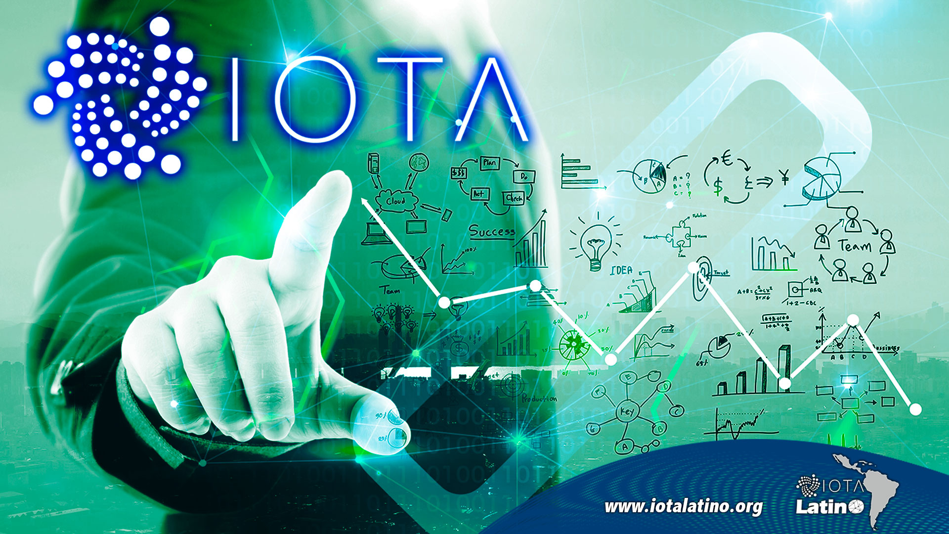 Tangle IOTA - IOTA Latino