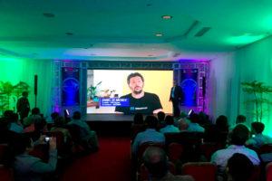 primer meetup de IOTA en Venezuela-Daniel De Michel