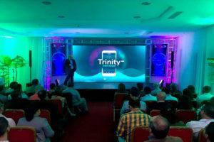 primer meetup de IOTA en Venezuela - Saúl Ameliach-Trinity