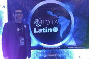 primer meetup de IOTA en Venezuela - Teobaldo Rodriguez-iota