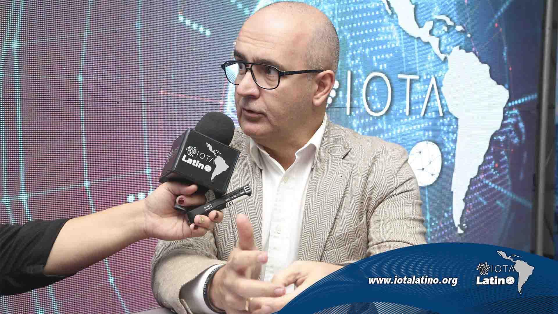 Saul Ameliach Iota Latino - tecnología Tangle - saul ameliach