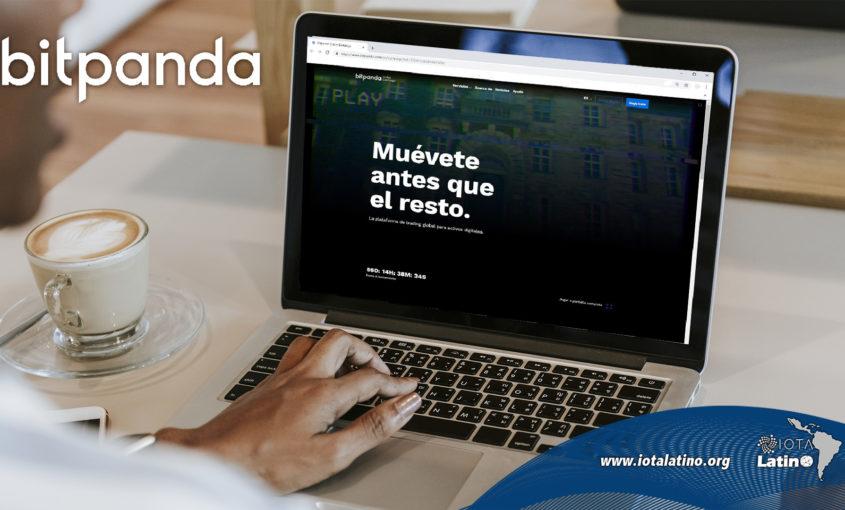 Intercambio Bitpanda - Iota latino