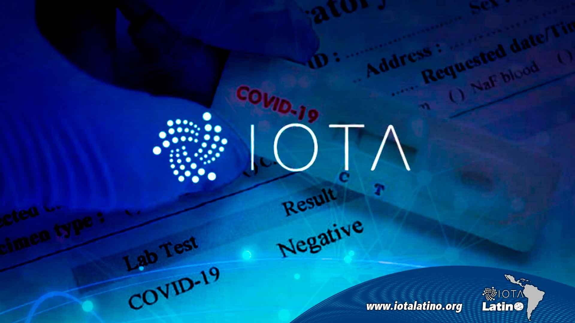 IOTA detectaria a la COVID-19 - IOTA Latino
