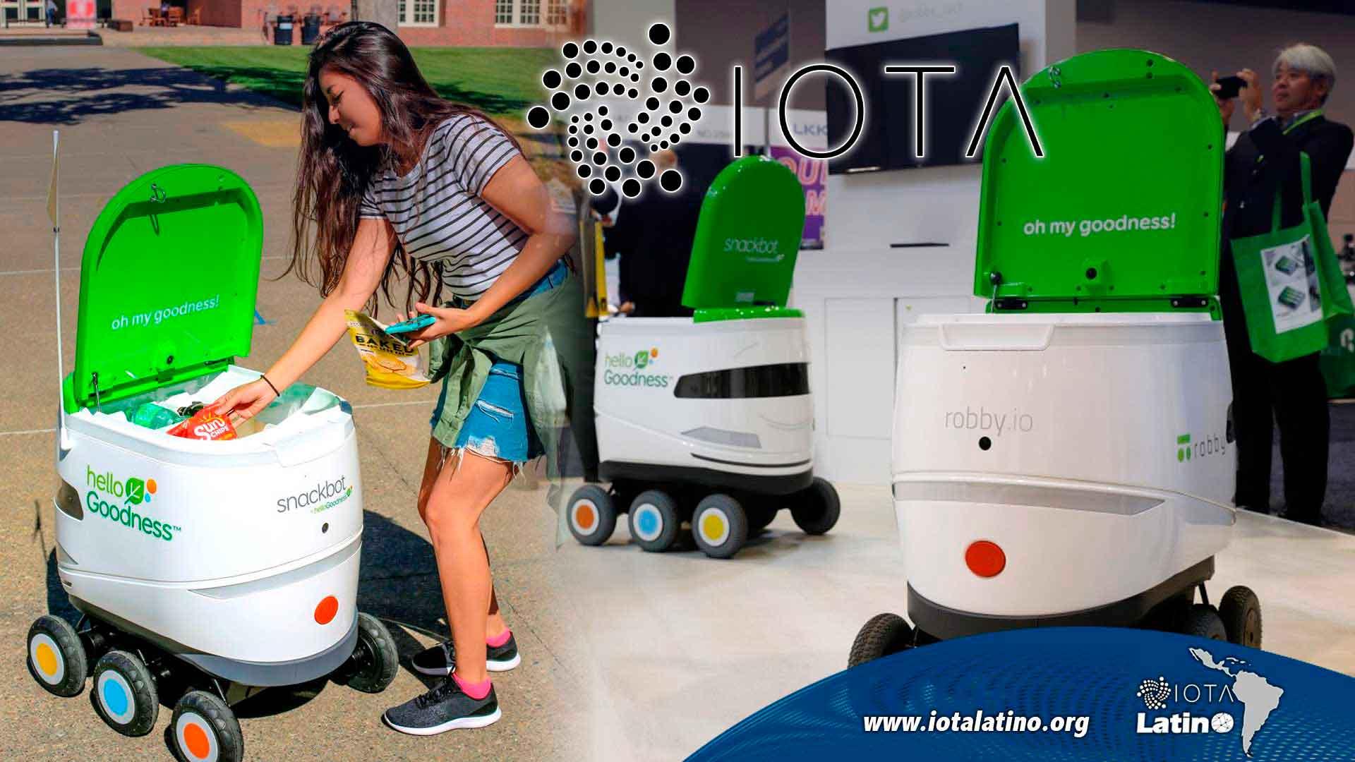 Machine to machine - IOTA Latino