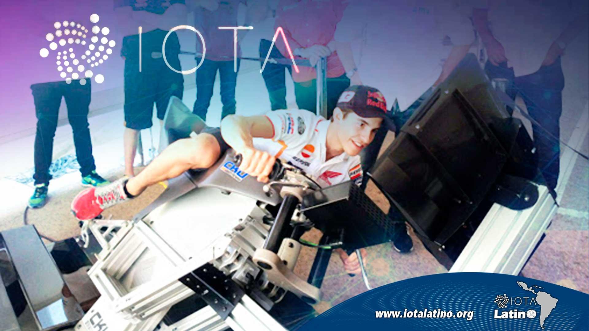 Simulador de MotoGP - IOTA Latino