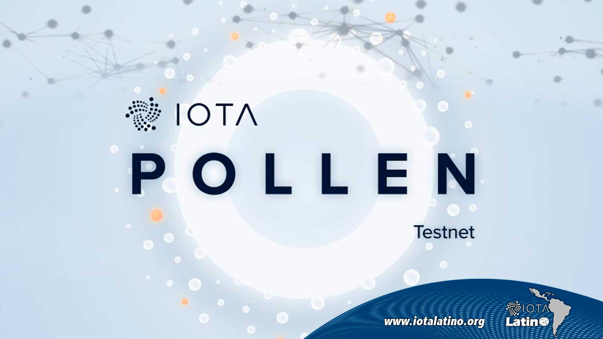 Pollen Testnet V0.2.2 - IOTA Latino
