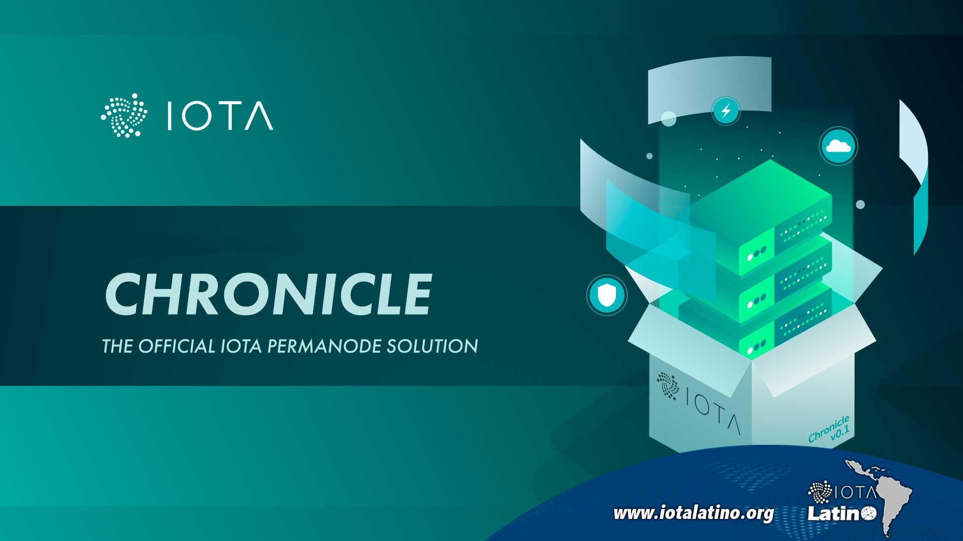 Chronicle de IOTA - IOTA Latino
