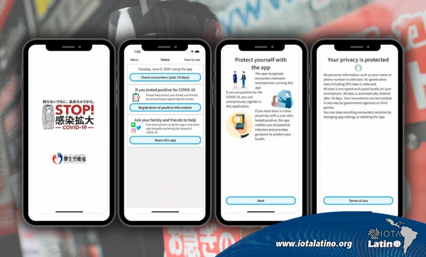 La aplicación COCOA - IOTA Latino