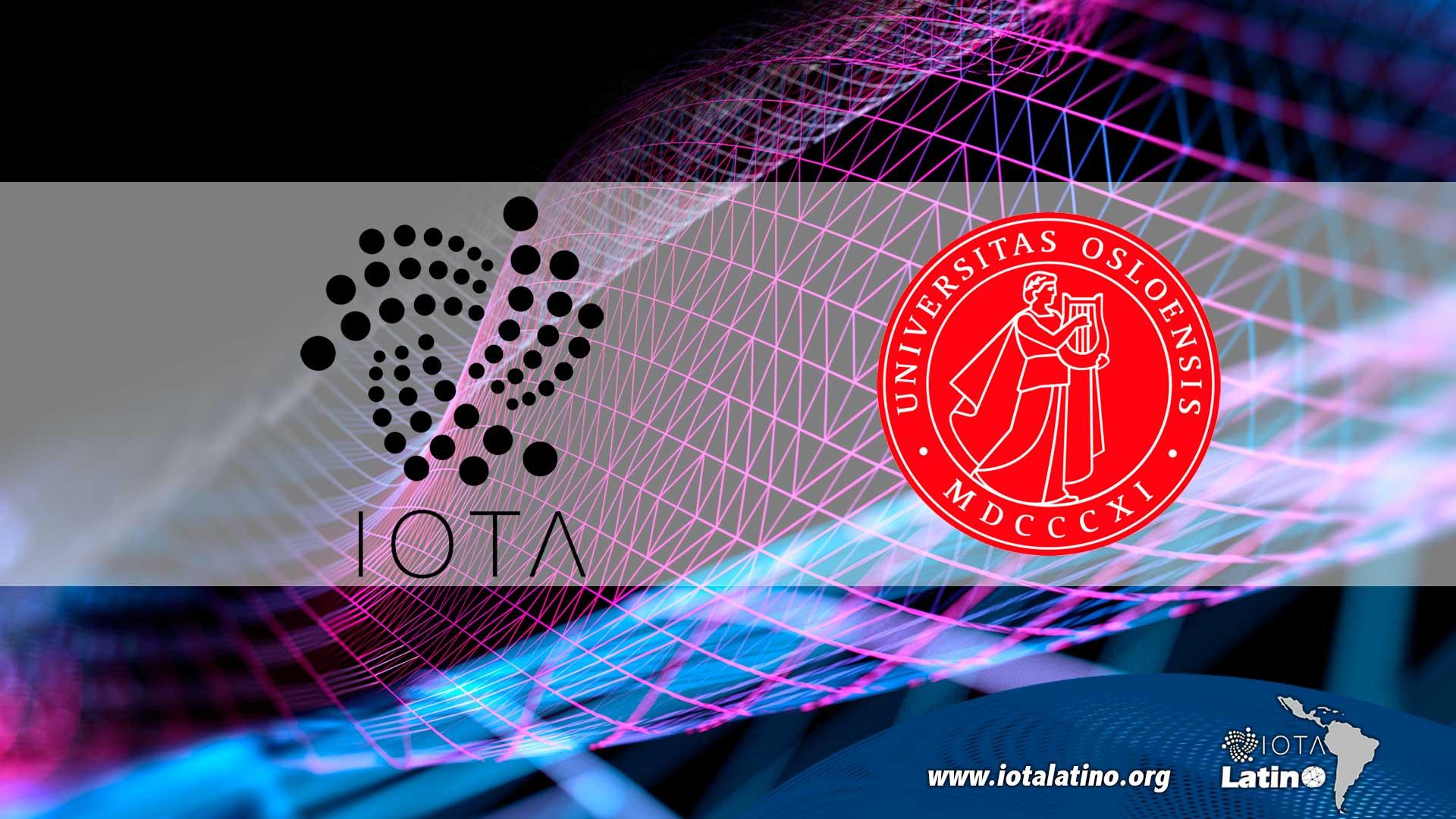 Laboratorio que usa al tiempo IOTA - IOTA Latino
