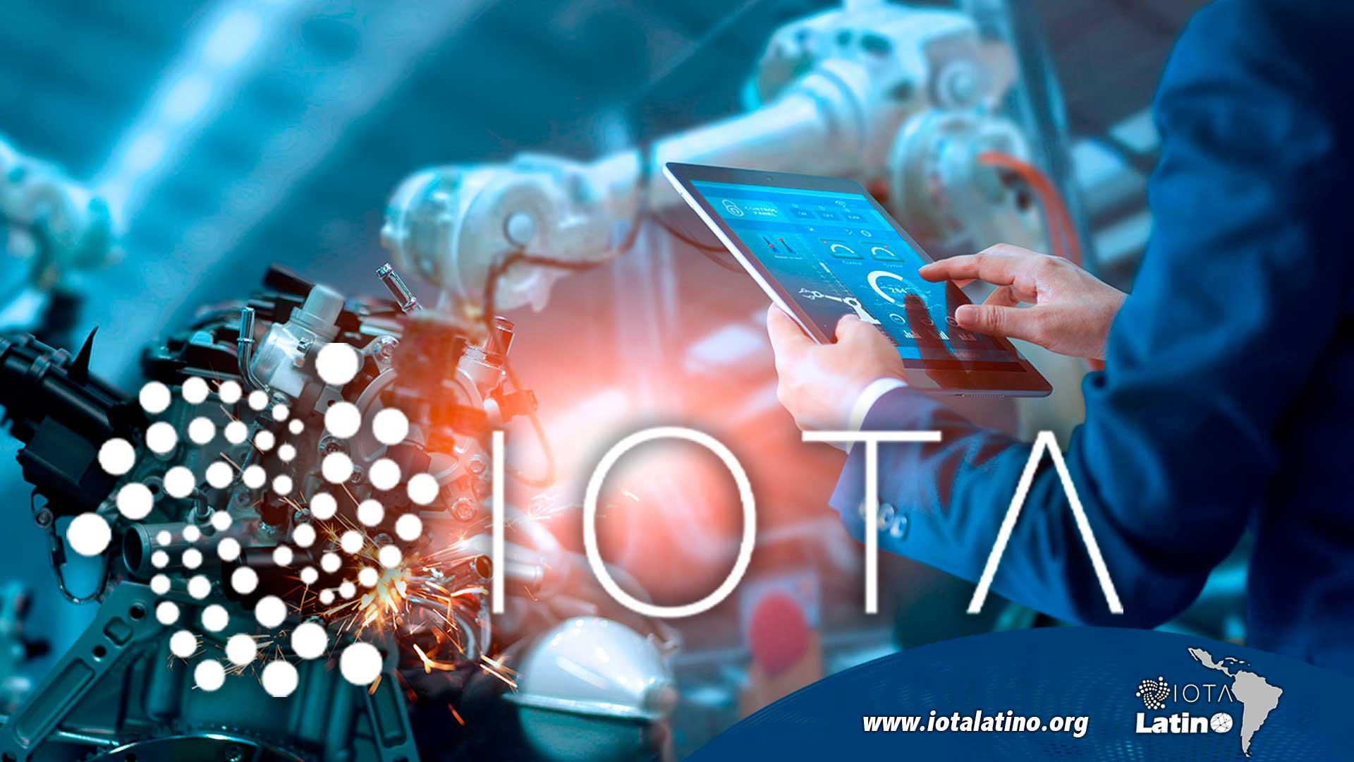 Industria 4.0 apuesta a IOTA - IOTA Latino