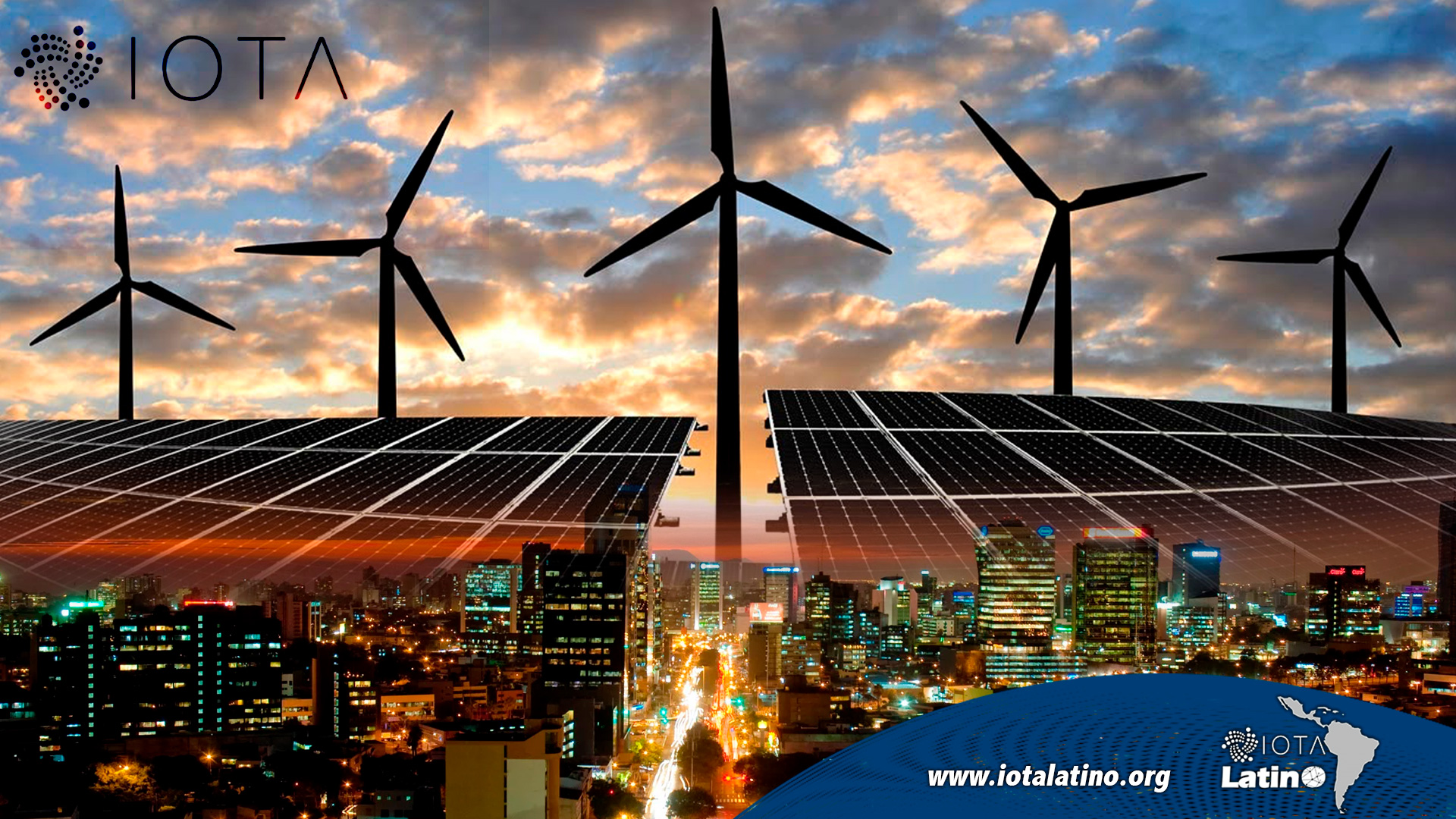 Ciudades con energía renovable - IOTA Latino